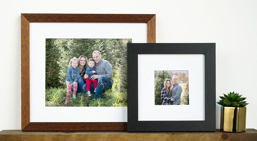 Museum-Quality Classic Wooden Frames - 6 finish options